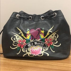 Ed Hardy by Christian Audigier Large Tote
